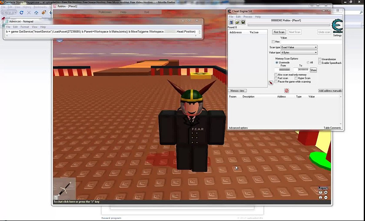 How To Hack Roblox Admin Video Dailymotion