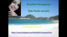 003- Brazilian Portuguese-Cardinal numbers-São Paulo accent-totally free course