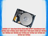 500GB 2.5 Sata Hard Drive Disk Hdd for HP TouchSmart tm2-1070us tm2-2150us tm2t-1000 tm2t-1100