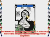 WESTERN DIGITAL WD WD Blue WD10SPCX 1 TB 2.5 Internal Hard Drive (Catalog Category: Computer
