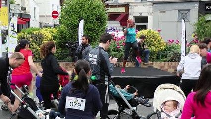 La Familiale 2015, la première course de poussettes en vidéo