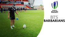 BARBARIANS: Inside access, highlights and blindfolded kicking...