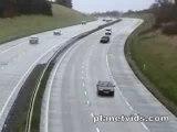 Tremblement de terre sur autoroute