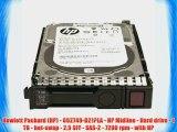 Hewlett Packard (HP) - 652749-B21?LA - HP Midline - Hard drive - 1 TB - hot-swap - 2.5 SFF