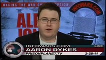 The Alex Jones Show Special Report 2/28/11: Alex Jones Appears on Abc's 'The View'