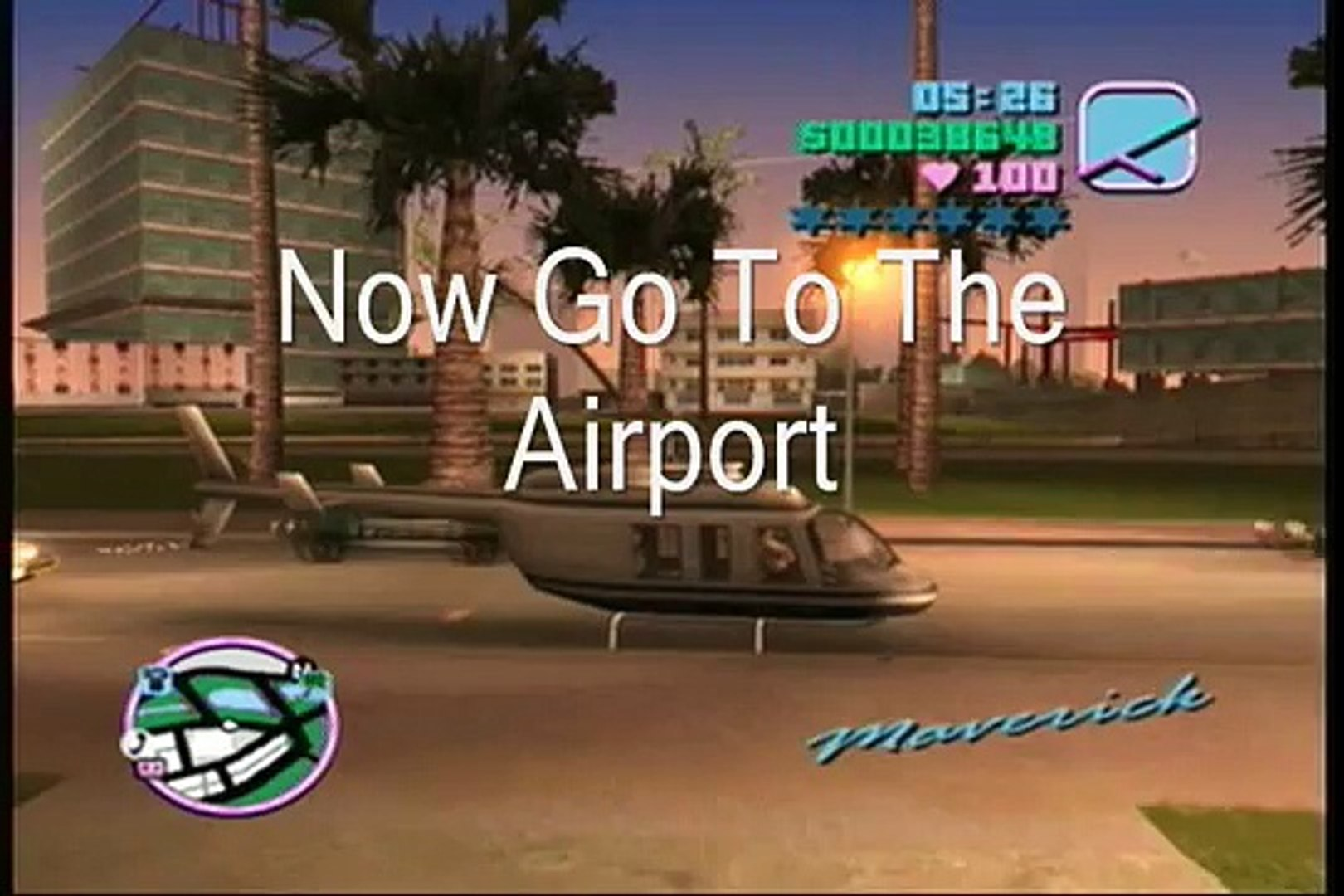 GTA Vice City Hunter Helicopter Without Any Cheats
