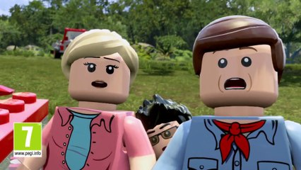 Le spot tv de LEGO Jurassic World