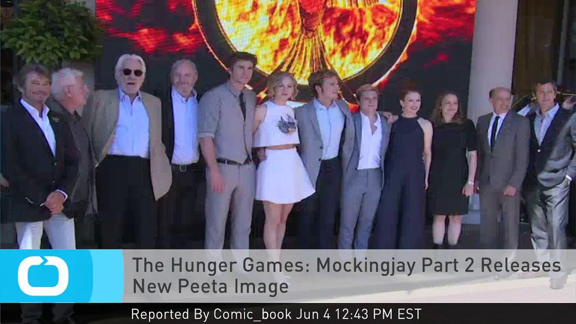Mockingjay Part 2 Poster Peeta