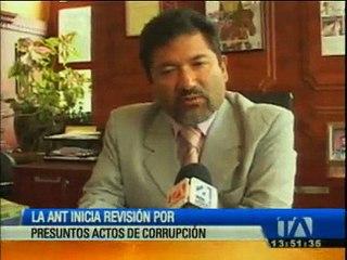 ANT inicia investigación por presuntos actos de corrupción