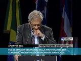El nobel Amartya Sen instó a ampliar la visión para los más necesitados