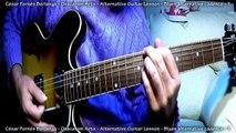 Lead Guitar Lessons - Blues alternative cadence - 1 - César Fornés Berlanga