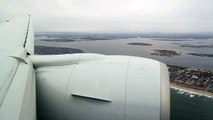 Etihad Airways / Jet Airways : Landing in New York JFK (B777-300ER)