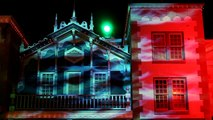 HKDL Haunted Halloween 2011 3D Projection Mapping of Main Street, U.S.A. Building