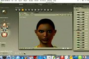 How to Use Poser : Editing A Character's Face in Poser