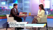 """George Stephanopoulos Corners Michele Bachmann Into Admitting Obama Birth Certificate """"Settled"""""""