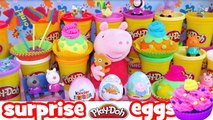 Kinder surprise eggs - Peppa pig kinder surprise eggs disney frozen play doh barbie dora c