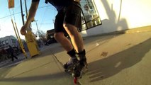 Inline Skater, Not Supposed To Do That In Hockey Skates 1