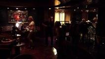 Aboard Holland America Zaandam, Fun Dancing  with Buddy on 7/26/12 Alaska Cruise
