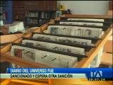 La Supercom ventilará el proceso iniciado en contra del diario El Universo el viernes 5 de junio