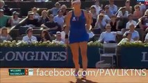 Serena Williams vs Timea Bacsinszky Highlights - Roland Garros 2015 - Full (HD)