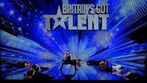 Cascade Stunt Team HD Britain's Got Talent Audition 2012 French Stuntmen Cascade BGT Demo Team