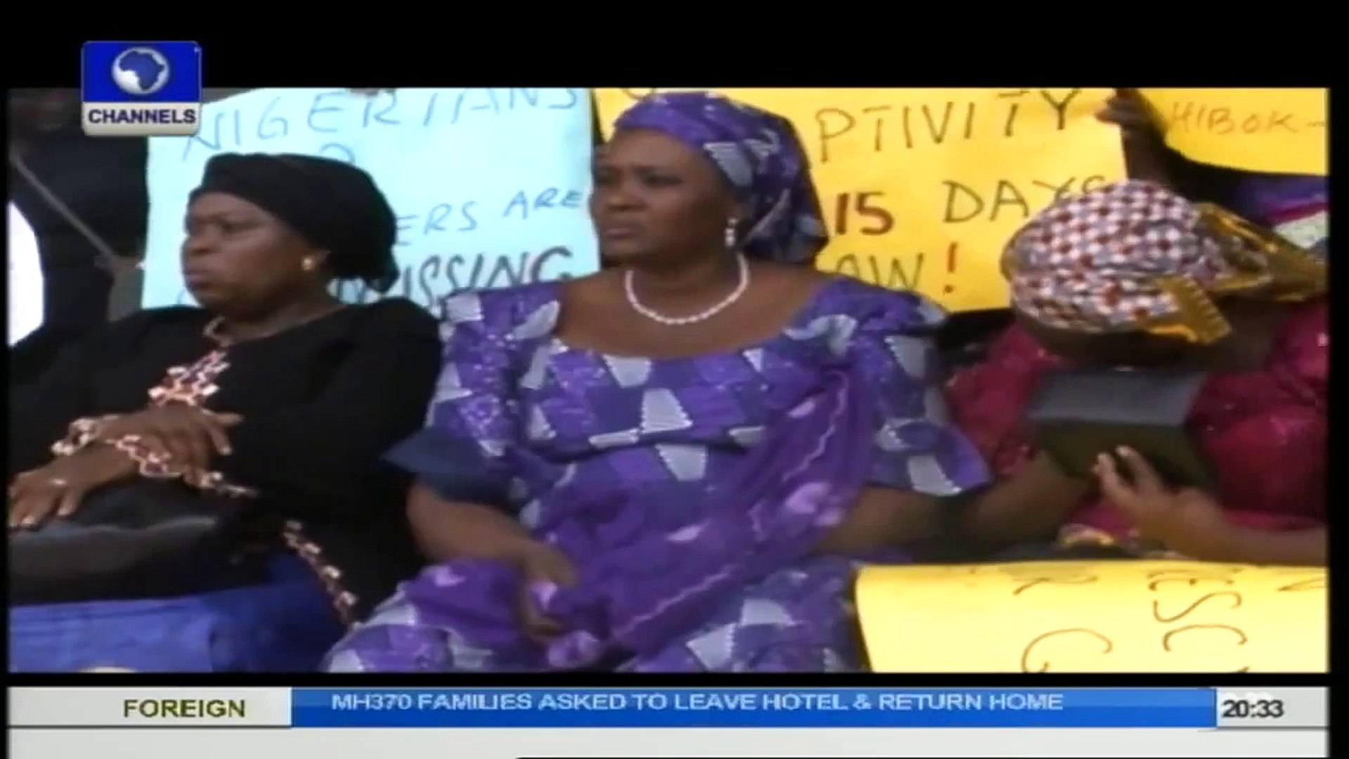 The Gavel: Chibok Girls Abduction Triggering Protests, With 'Bring Back Our Girls' Demand