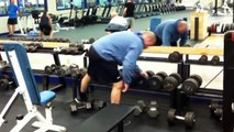 High Repetition Dumbbell Bench Press - Chest Building Exercise