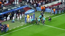 Entry of the players on Camp Nou's pitch for Barça/Celtic & atmosphere (23/10/2012) HD