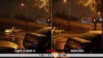 Nikon D800 v Canon 5D Mark III video test: high ISO, moiré, rolling shutter & dynamic range