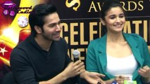 Alia Bhatt Sing Really Well At Press Confrence Of Stardust Awards