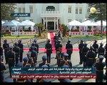 مغادرة الرئيس عبد الفتاح السيسي قصر الإتحادية بعد نهاية مراسم تسلم السلطة