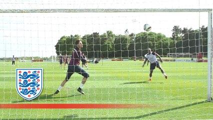 Ings, Ward-Prowse and England U21s close range finishing | Inside Training