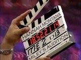 Miley Cyrus dans sa toute première audition pour Hannah Montana