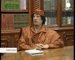 interview - Muammar al-Gaddafi, líder libio