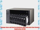 QNAP TVS-871-i7-16G-US 8-Bay Intel Core i7 3.2GHz Quad Core 16GB RAM 4LAN 10G-ready (TVS-871-i7-16G-US)