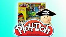 Zabawa z Zestawem Jake i Piraci z Nibylandii- Ciastolina Play-Doh - Baw się z n