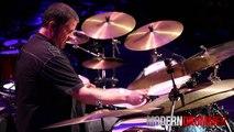 Drummer Russ Miller Drum Solo Live at Drum Daze 2014