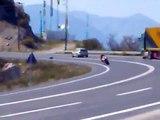 moto gp bralos greece oropos crazy bikers