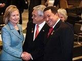 Hugo Chavez, Hillary Clinton enjoy friendly chat at Brazil inauguration - slide show