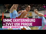 UMMC Ekaterinburg (RUS) v ZVVZ USK Prague (CZE) – Highlights - RS – 2014-15 EuroLeague Women