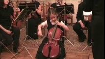 Maria, 6 years, plays Vivaldi's concert