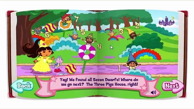 Dora the Explorer - Dora Fairytale Fiesta -Nick Jr. New Full Game
