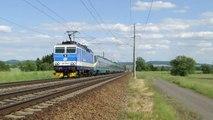 Lokomotiva 162 036-8 a jednotka 681 003-0/682 003-9 - Žichlínek, 3.6.2015 HD