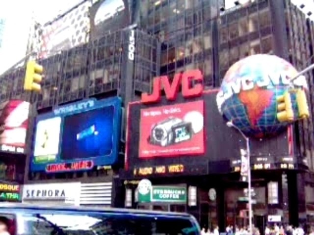 My second video on Time Square