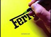 Les logos à main levée de Seb Lester