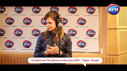 Christine And The Queens - Saint Claude en live sur RFM !