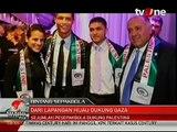 Cristiano Ronaldo, Lionel Messi, Kanoute, Diego Maradona love palestine