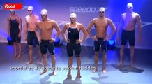 Michael Phelps zwemt sneller door software