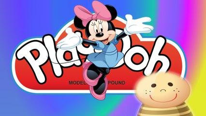 Jak ulepić kokardę dla Myszki Minnie? Ciastolina Play-Doh- Myszka Minnie- Baw się z nami
