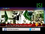 ISI - Pakistan's Flags Raised Once Again In Endian occupied Kashmir